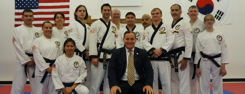 Regular annual group training retreats, clinics, camps & seminars for black belt, masters and school owners