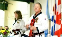 30 KJN Teacher Grandmaster Stephen G. Washington at 8th Dan promotion in 2012